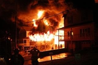 2008 North Mortimer Street Fire