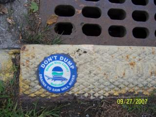 Village Storm Drains flow directly into the Saw Mill River or Bronx River with no treatment.